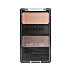 Тени для век Wet n Wild Color Icon Eyeshadow Trio 335 (Цвет 335 Silent Treatment variant_hex_name B69A8C) silent treatment