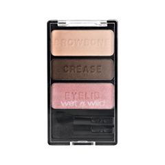 Тени для век Wet n Wild Color Icon Eyeshadow Trio 381B (Цвет 381B Sweet As Candy variant_hex_name 613A2B)