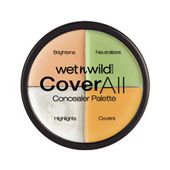 Для лица Wet n Wild CoverAll Correcting Palette (Цвет  E9A851 variant_hex_name E9A851)