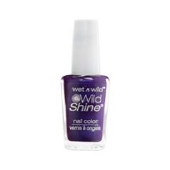 Лак для ногтей Wet n Wild Wild Shine Nail Color E417f (Цвет E417f Eggplant Frost)