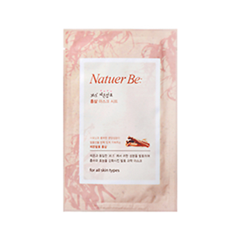 Тканевая маска Enprani Natuer Be 36.5 Red Ginseng Mask Sheet (Объем 23 мл)