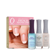 Набор для маникюра Orly French Manicure Kit Pink (Объем 3*9 мл) orly лак для ногтей 22472 french flirty girl french manicure 18 мл