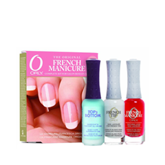 Набор для маникюра Orly French Manicure Kit Rose (Объем 3*9 мл) orly лак для ногтей 22472 french flirty girl french manicure 18 мл