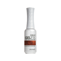 Gel FX 018 (Цвет 018 Rose Bronze Chrome variant_hex_name 862E19)