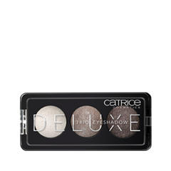 Для глаз Catrice Deluxe Trio Eyeshadow 020 (Цвет 020 Meet The Gemstones variant_hex_name 9A8A83) для глаз catrice the ultimate chrome collection eyeshadow palette