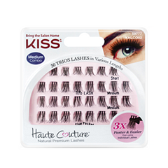 Накладные ресницы Kiss Haute Couture Trio Lashes Medium peter thomas roth lashes to die for trio