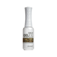 ����-��� ��� ������ Orly Gel FX 019 (���� 019  Yellow Gold Chrome 30019)