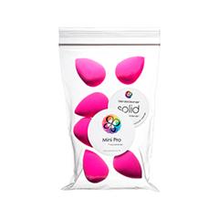 Спонжи и аппликаторы beautyblender Набор 6 Спонжей Original + Мыло для очистки Solid (Цвет Original variant_hex_name FB067A)