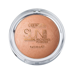 Бронзатор Catrice Sun Glow Mineral Bronzing Powder 010 (Цвет 010 Golden Light variant_hex_name C98866)