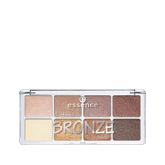 Тени для век essence All About  Eyeshadow Palettes 01 (Цвет 01 Bronze variant_hex_name CE9D6D)