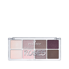 Для глаз essence All About … Eyeshadow Palettes 03 (Цвет 03 Roses variant_hex_name CE9D6D) тени для век essence all about … eyeshadow palettes 06 цвет 06 toffee variant hex name c6a8a6