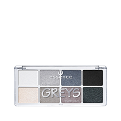 Для глаз essence All About … Eyeshadow Palettes 04 (Цвет 04 Grays variant_hex_name ACA5A3) тени для век essence all about … eyeshadow palettes 06 цвет 06 toffee variant hex name c6a8a6