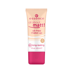 Тональная основа essence All About Matt! Oil-Free Make-Up 5 (Цвет 05 Matt Vanilla variant_hex_name E9B789)