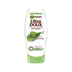 Бальзам Garnier Ultra Doux. Бальзам-ополаскиватель Алоэ и растительное молочко (Объем 200 мл)