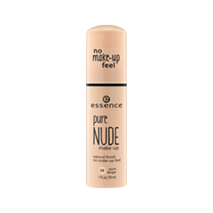 Тональная основа essence Pure Nude 10 (Цвет 10 Pure Beige variant_hex_name F3D0B5)