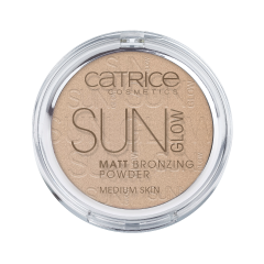 Бронзатор Catrice Sun Glow Matt Bronzing Powder (Цвет 030 Medium Bronze variant_hex_name e0d3c3 Вес 50.00)