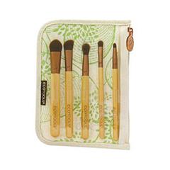 цена на Набор кистей для макияжа Ecotools Bamboo 6 Piece Eye Brush Set