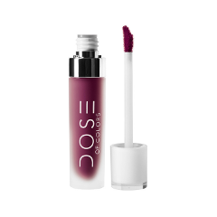 Жидкая помада Dose of Colors Matte Liquid Lipstick Berry Me (Цвет Berry Me variant_hex_name 8E1353)