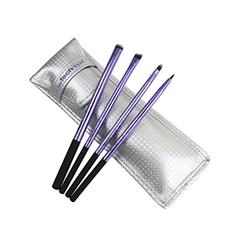 Набор кистей для макияжа Real Techniques Eyelining Set кисти для макияжа brush set 32pcs pincel maquiagem professional 32 pcs makeup brushes set