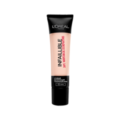 Тональная основа LOreal Paris Infaillible Matt 24h 11 (Цвет 11 Ваниль variant_hex_name F7D0BF)