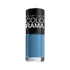 Лак для ногтей Maybelline New York Colorama 285 (Цвет 285 Голубая сталь variant_hex_name 47799A)