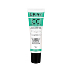CC крем NYX Professional Makeup Color Correcting Cream 02 (Цвет 02 Green - Medium/Deep variant_hex_name FBB68D)