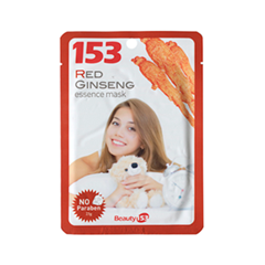 Тканевая маска Beauty153 153 Red Ginseng Essence Mask (Объем 25 мл)