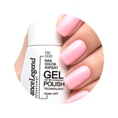 Лак для ногтей Dance Legend Gel Polish 021 (Цвет 021 Zephyr variant_hex_name F6AEAF)