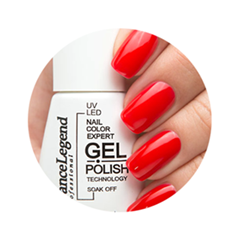 Лак для ногтей Dance Legend Gel Polish 046 (Цвет 046 Monroe variant_hex_name CE0B0F)