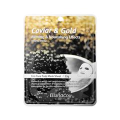 �������� ����� ElishaCoy Caviar & Gold Mask Sheet (����� 25 �)
