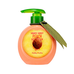 Лосьон для тела Holika Holika Farmer's Market Peach Body Lotion (Объем 240 мл) premier лосьон для тела колокольчик premier body care body lotion bell a26 300 мл