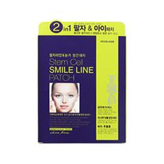 Антивозрастной уход Nesura Маска-наклейка от мимических морщин Stem Cell Smile Line Patch