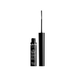 Тушь для ресниц NYX Professional Makeup The Skinny Mascara 01 (Цвет Black variant_hex_name 000000) подводка nyx professional makeup super skinny eye marker цвет carbon black variant hex name 000000