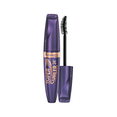 Тушь для ресниц Rimmel 24HR Supercurler Mascara 001 (Цвет 001 Black variant_hex_name 000000) fashion brand crrju watches women ladies crystal diamond quartz watch luxury rose gold wrist watches for women relojes mujer