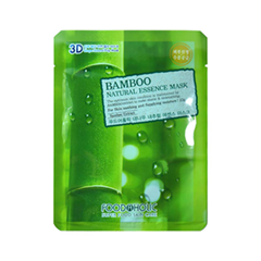 Тканевая маска FoodaHolic Bamboo Natural Essence 3D Mask (Объем 23 г)