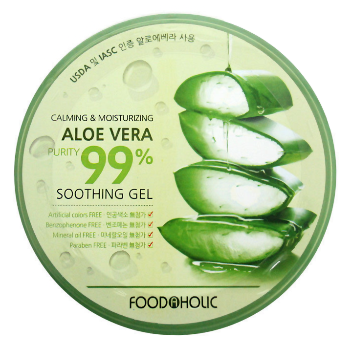 Гель FoodaHolic Calming and Moisturizing Aloe Vera Soothing Gel (Объем 300 мл)