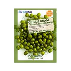 �������� ����� FoodaHolic Green Gram Natural Essence 3D Mask (����� 23 �)