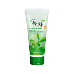 Пенка FoodaHolic Green Tea Fresh Soothing Foam Cleansing (Объем 180 мл)