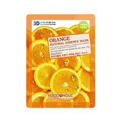 Тканевая маска FoodaHolic Orange Gram Natural Essence 3D Mask (Объем 23 г)