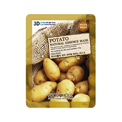Тканевая маска FoodaHolic Potato Natural Essence 3D Mask (Объем 23 г)