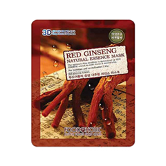 Тканевая маска FoodaHolic Red Ginseng Natural Essence 3D Mask (Объем 23 г)