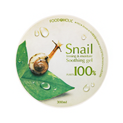 Гель FoodaHolic Snail Firming and Moisure Soothing Gel (Объем 300 мл)