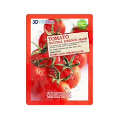Тканевая маска FoodaHolic Tomato Natural Essence 3D Mask (Объем 23 г)