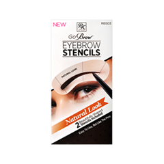 ��������� Kiss Go Brow Eyebrow Stencils Natural Look