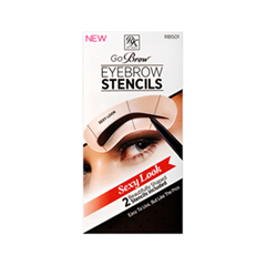 ��������� Kiss Go Brow Eyebrow Stencils Sexy Look