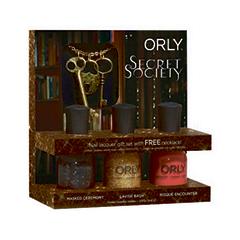 Набор для маникюра Orly Набор лаков Secret Society Lock  Key Necklace
