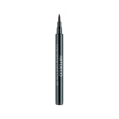 Подводка Artdeco Long Lasting Liquid Liner 3 (Цвет 03 Brown variant_hex_name 3D271C) artdeco точилка для карандашей magic liner