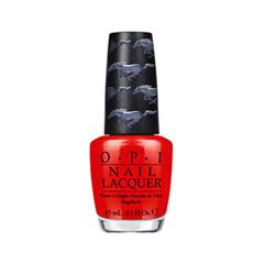Лак для ногтей OPI Ford Mustang Collection F68 (Цвет F68 Race Red variant_hex_name D60A06)