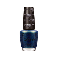Лак для ногтей OPI Ford Mustang Collection F71 (Цвет F71 The Skys My Limit variant_hex_name 0F304F)
