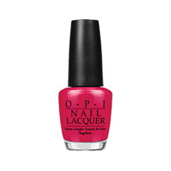Лак для ногтей OPI Nail Lacquer Classic Collection H08 (Цвет H08 Im Not Really a Waitress variant_hex_name C0153F)